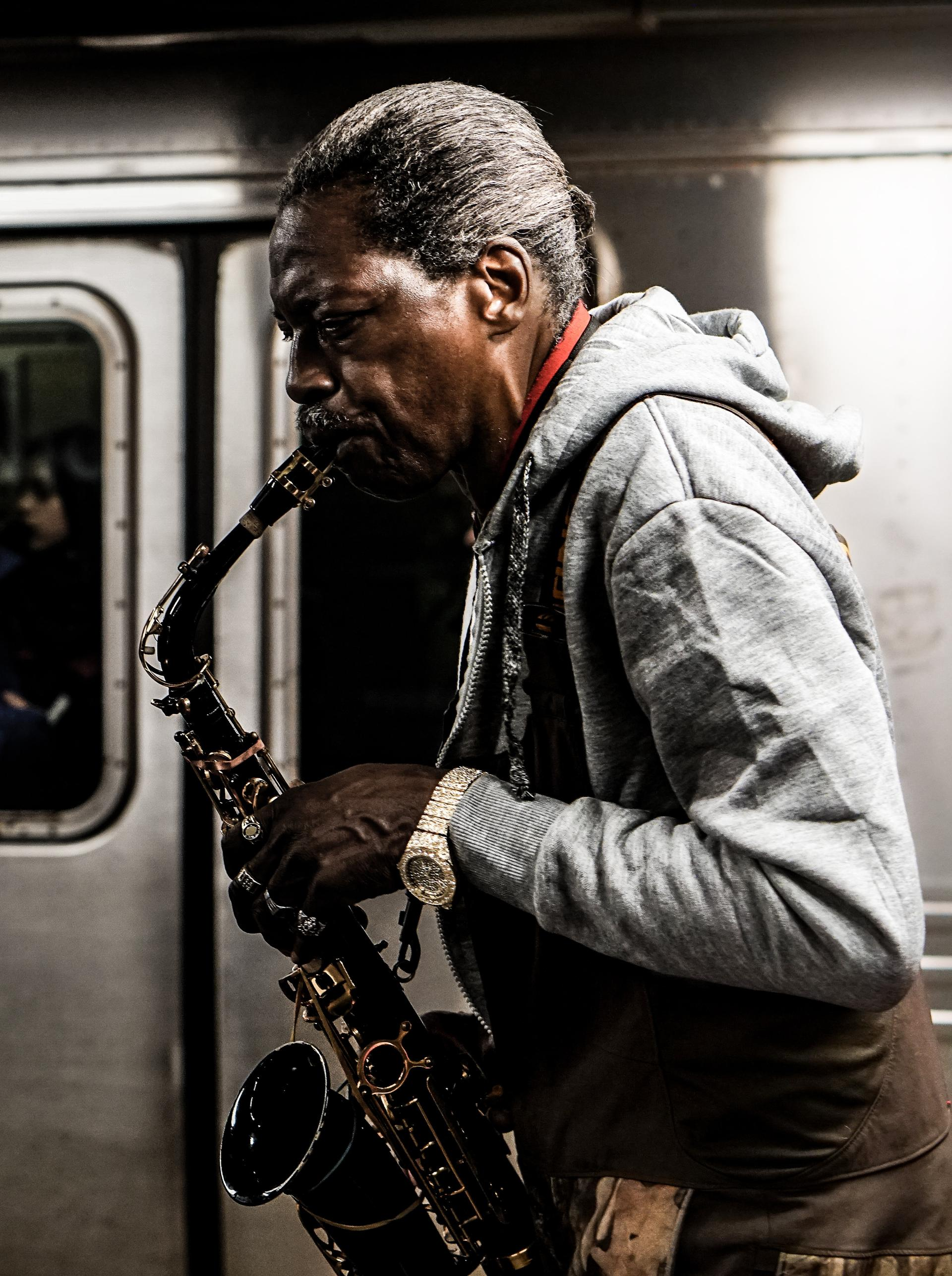 Here's how to play and improvise blues saxophone